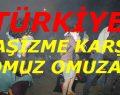 """İSTANBUL,ANKARA,ESKİŞEHİR,İZMİR AYAKTA.AYDIN,RİZE """"Direnişe katıldı""""."""