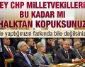 Meydanlar Emine Ülker Tarhan Diye İnliyor.CHP Engelliyor