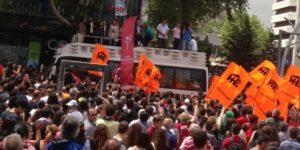 Ankara Direniyor. Öğretim Üyeleri Yürüyor