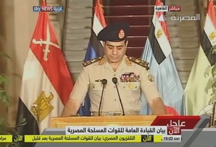 Mısır'da Darbe Oldu! Halk Sevinç Çıglıkları Atıyor..