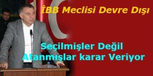 Gökan Zeybek.İstanbul'u Çevre ve Şehircilik Bakanlığı'nın iştahına kurban etmeyin