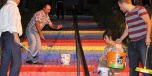 Arnavutköy'de Merdivenlerin Çekimi Yapan Halktv Ekibine Saldırı Yapıldı
