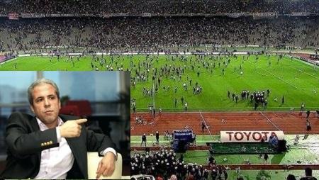 Tweetçi Tayyar, Beşiktaş Camiasına Şerefsizler dedi.