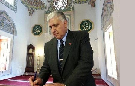 Özel Paşa'nın Kosova'da Ziyaret Ettiği Caminin Davut Yıldızlı Penceresi