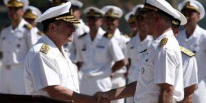 Balyoz Tepkileri, Deniz Kuvvetlerinden İstifalar Başladı