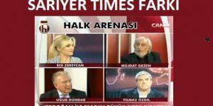 """""""Sarıyer Times Farkı"""" Tarih 16.09.2013.Uğur Dündar Halk Tv de."""