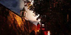 Yeniköy  Panayia  Rum Kilisesi Yandı