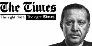 Times'de farkına vardı. Laik devlete saldırı yapıldı!
