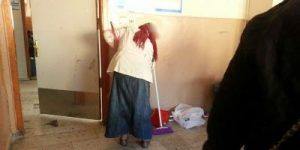 """""""Rezaletin Daniskası"""" Sarıyer İlköğretim Okulunda Aileler temizlik yapıyor."""