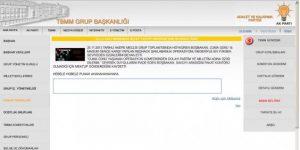 RedHack AKP'yi Hackledi.
