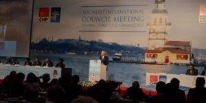 Sosyalist Enternasyonal (SE) Konseyi İstanbul'da toplandı
