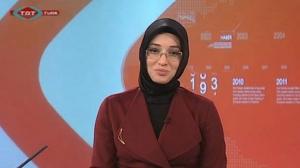 """""""Türbanlı Spiker"""" TRT'de Bir İlk Daha Gerçekleşti"""