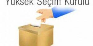 YSK Seçim Takvimini Belirledi