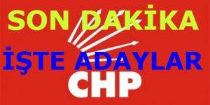 CHP MYK'dan Süprizler Çıkıyor.