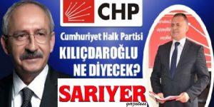 CHP Sarıyer ilçesinde Neler Oluyor!!