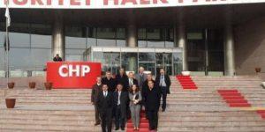 Sarıyer Sosyal Demokrasi Platformu CHP Genel Merkezine Taleplerini Bildirdi