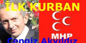 """""""Tehlike Çanları Çalıyor"""" MHP Seçimlerde İlk Kurbanını Verdi"""