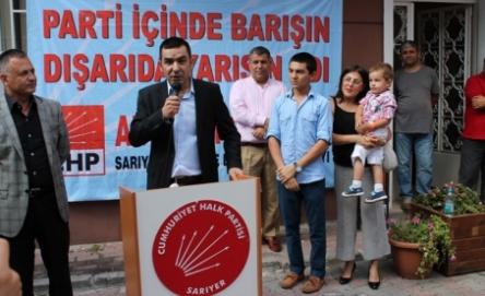 CHP'nin Kazanması İçin Gayretle Çalışacağım