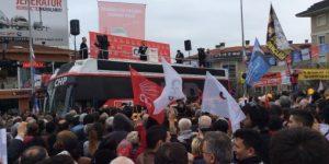 Sarıgül Sarıyer'de Gövde Gösterisi Yaptı