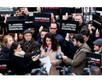 Gazetecilik Suç Değildir. Al Jazeera Çalışanlarına Özgürlük!