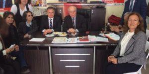 Ercan Karakaş Ferahevler Mahalle Gezisine Katıldı