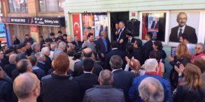 CHP Büyükdere Seçim Bürosu Açlışı yapıldı