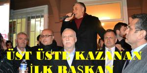 Sarıyerde Üstü Üste Kazanan İlk Belediye Başkanı