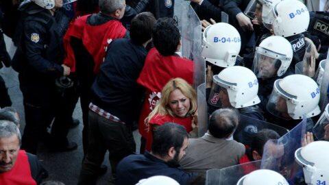 Taksimde 1 Mayıs Müdahalesi Yapıldı