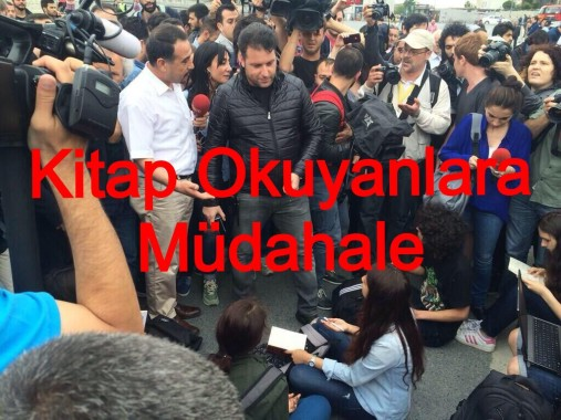 Taksimde Oturma Eylemine Müdahale