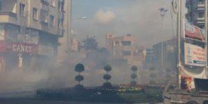 """Her yerde """"Lice"""" protestoları… Dört ilde çatışmalar"""