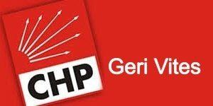 CHP'den Gensoruya Geri Vites