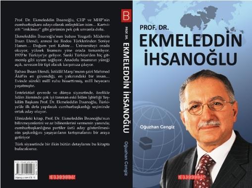Ekmeleddin İhsanoğlu'na kitaplı tanıtım