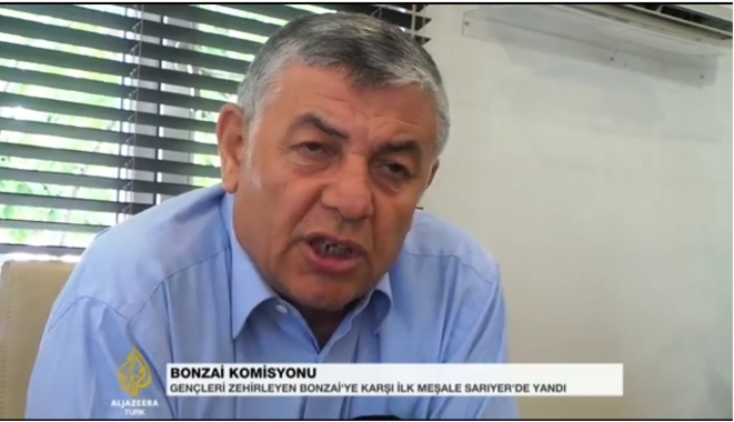 Şükrü Genç Al Jazeera'da, Bonzai'yi Hafife Almayın