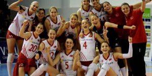 A Milli Bayan Voleybol Takımı CEV Avrupa Ligi'nde şampiyonluğa ulaştı!