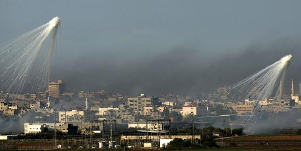 İsrail, Suriye ve Lübnan'ı Vurdu, Filistinde 172 Kişi Öldü