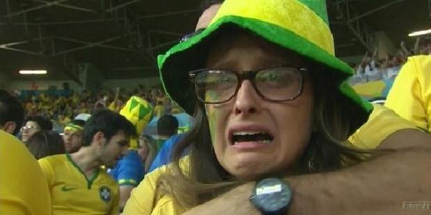 Dünya Futbol Tarihi Brezilya'yı Gözyaşları ile Yazdı