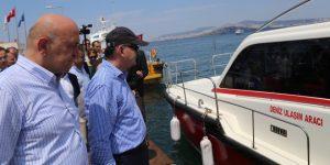 Adalar'a 2 Adet Acil Müdehale Nakil Aracı