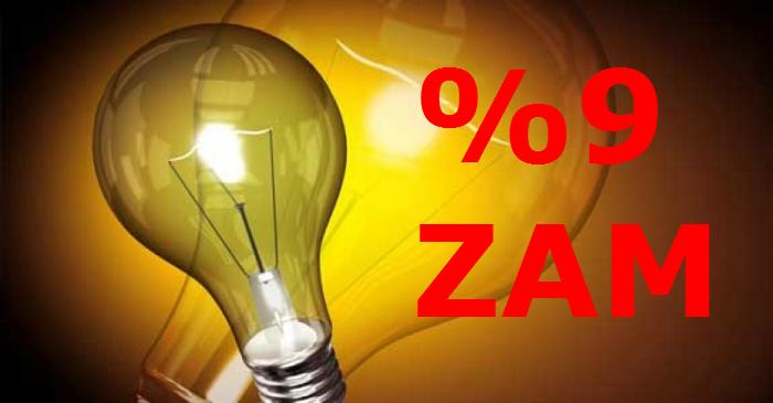 """""""%9"""" Elektirik ve Doğalgaz'a ZAM!"""