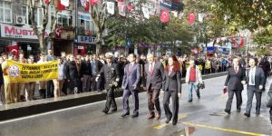 29 Ekim Cumhuriyet Bayramı Resmi Töreni Yapıldı.