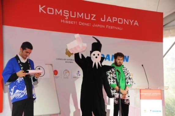 """""""KOMŞUMUZ JAPONYA FESTİVALİ"""" BALTALİMANI'NDA GERÇEKLEŞTİRİLDİ"""