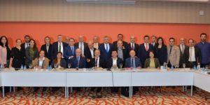 Karayalçın Belediye Başkanları İle Buluştu