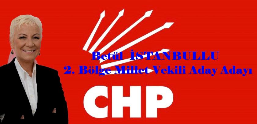 Betül İstanbullu 2. Bölgeden Millet Vekili Aday Adayı Oldu.