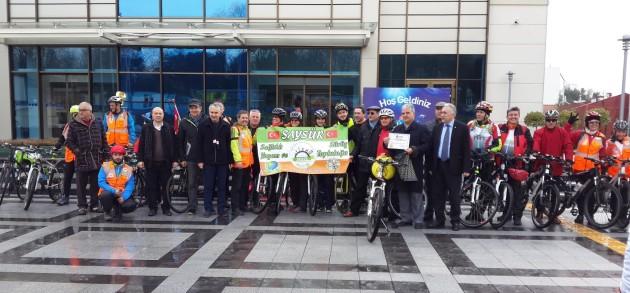 SKK. Çevre Sağlık Komisyonu Yaşanabilir Doğa İçin Sarı Bisiklet Turnuvası Yaptı