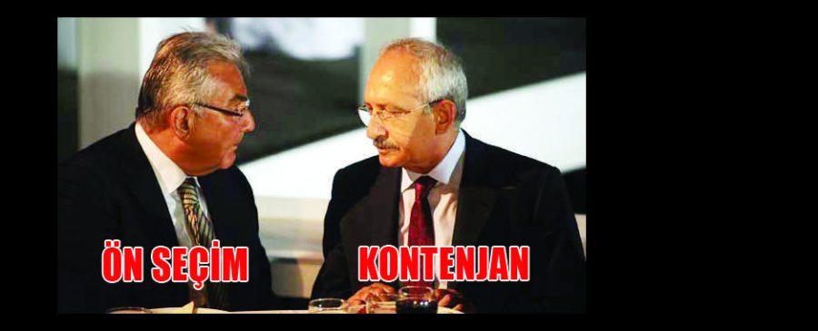 Kılıçdaroğlu KONTENJAN, Baykal ÖN SEÇİM