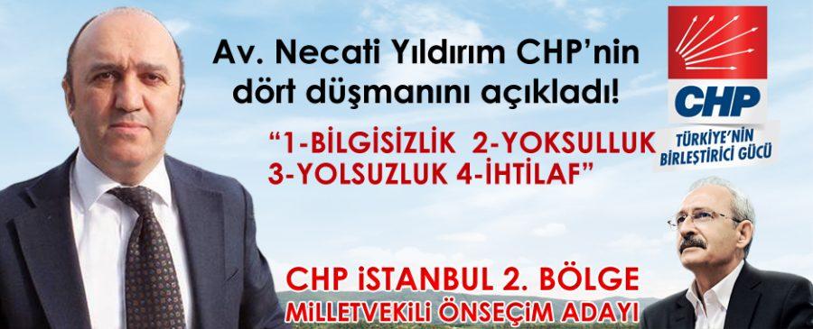 Av. Necati Yıldırım CHP'nin dört düşmanını açıkladı! İŞTE O MANİFESTO!