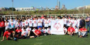 Özel Olimpiyatlar Türkiye sporcuları,  dünyaca ünlü Amerikan futbolcuları ile buluştu