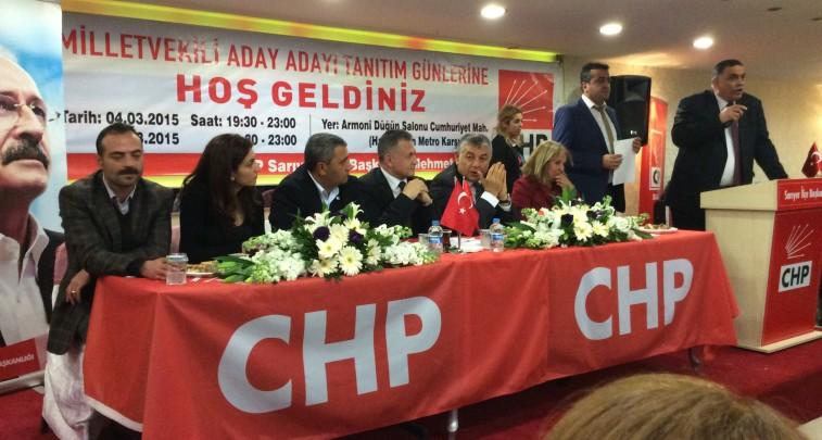 CHP Aday Adaylarını Tanıtıyor