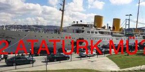 Erdoğan, Savarona yatı ile Boğaz'a açıldı