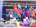 14 yaşındaki genç kayakçımız Asrın Beceren İsveç'te gümüş madalya kazandı.