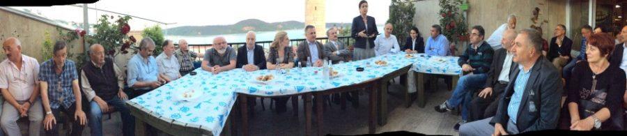 CHP Millet Vekilleri Sarıyerliler Derneğini ziyaret etti.
